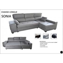 Sofa Chaiselongue cama 260 cms ref-10