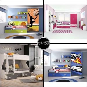 Muebles juveniles baratos dormitorios infantiles baratos for Muebles juveniles baratos