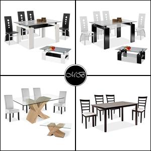 conjuntos mesas y sillas de comedor