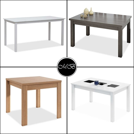 mesas de comedor de madera aglomerada