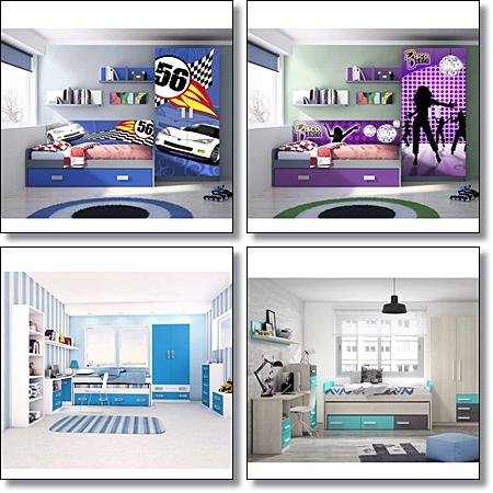 Muebles baratos muebles online for Dormitorios completos baratos