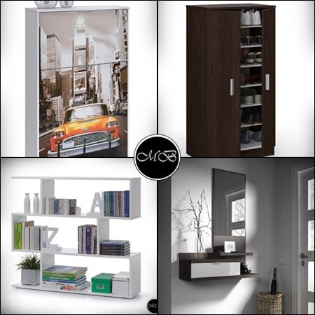 muebles de diseño auxiliares baratos
