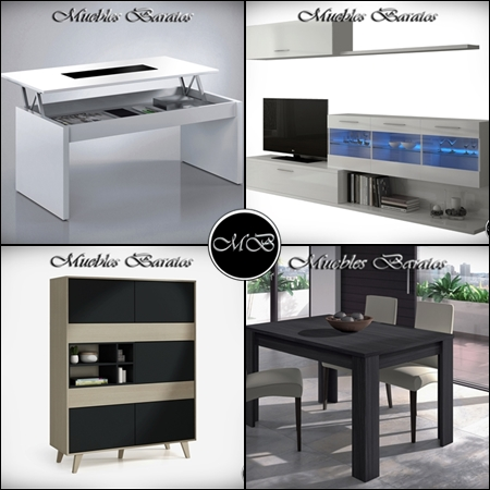 muebles de diseño baratos salon