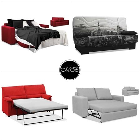 sofas cama varios colores