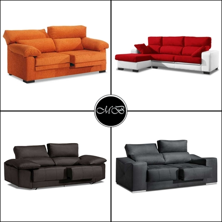 sofas tres plazas baratos